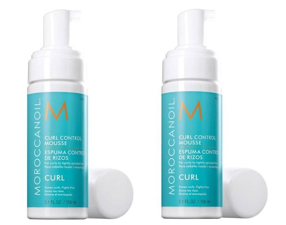 Moroccanoil mousse curl