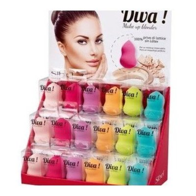 Sibel Diva Make-Up Blender Groen Outlet