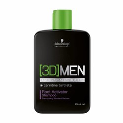 Schwarzkopf [3D] Men Activation Shampoo