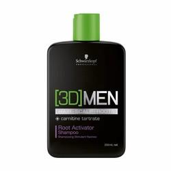 Schwarzkopf [3D] Uomini Attivazione Shampoo