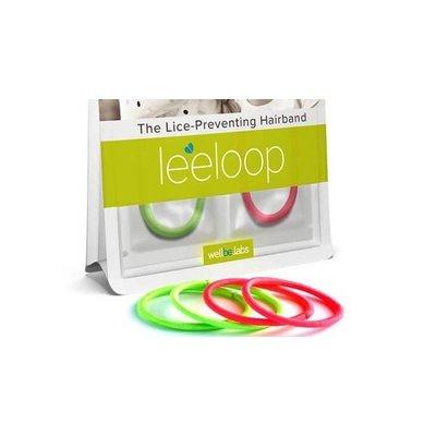 Leeloop Pidocchi prevenzione dei capelli Elastici 4 pezzi