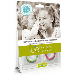 Leeloop Head Lice Prevention Hair Elastics