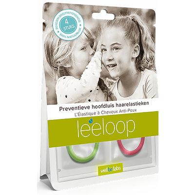 Leeloop Head Lice Prevention Hair elastics 4 pieces