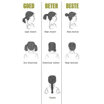 Leeloop Prévention des poux de tête cheveux 4 pièces ELASTICS