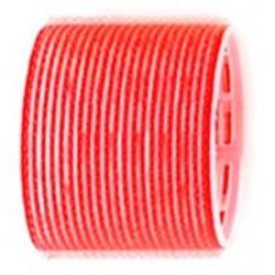Sibel Zelfklevende Rollers 6 Stuks - 70mm - Rood