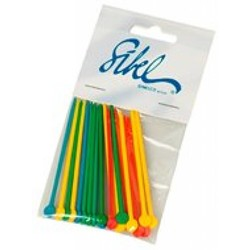 Sibel Plastic Stekers 100 Stuks