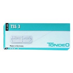 Tondeo TSS 3 Mesjes 10 Stuks
