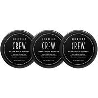 American Crew Schwere Hold-Pomade 3 Stück