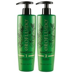 Orofluido Amazonia Reconstruction Oil & Oil Rinse Step 1 & 2