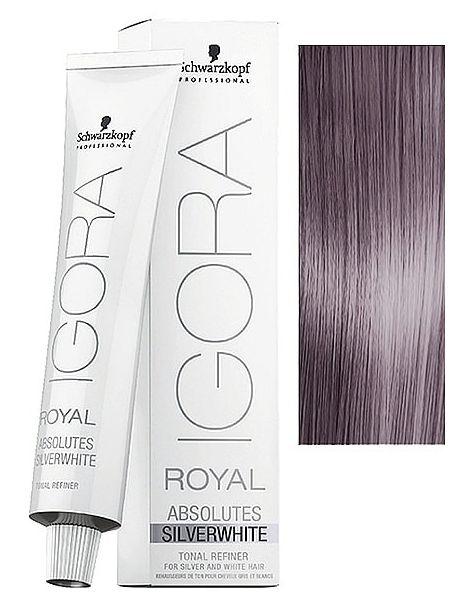 30761e6b9c Schwarzkopf Igora Royal Absolutes Silverwhite Lilac Silver