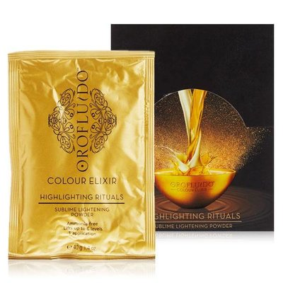 Orofluido Colour Elixir Sublime Lightening Powder 40g