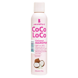 Lee Stafford CoCo LoCo Coconut Hair Spray 250 ml