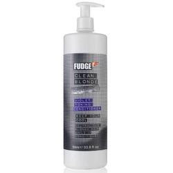 Fudge Clean Blonde Violet Toning Conditioner 1000ml