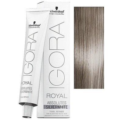 Schwarzkopf Igora Royal Absolutes Silverwhite Dove Grey