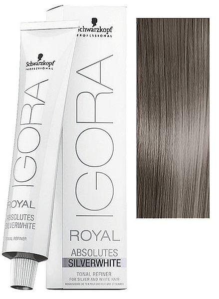 57bcfc67d0 Schwarzkopf Igora Royal Absolutes Silverwhite Slate Grey