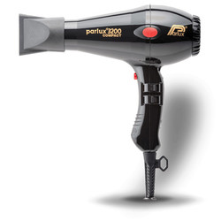 Parlux 3200 Compact Hairdryer Black