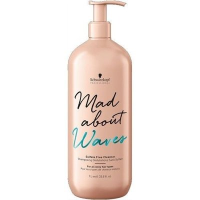 Schwarzkopf Mad About Waves Sulfate-free Cleanser 1000ml
