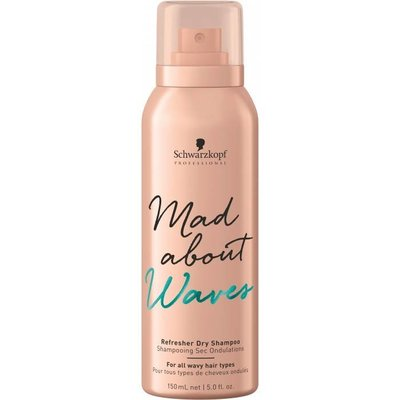 Schwarzkopf Mad About Waves Refresh Dry Shampoo 150ml