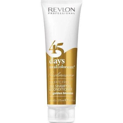 Revlon 45 Jours 2 en 1 Shampooing et revitalisant Golden Blondes