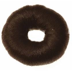 Sibel Knotrol rond en coton - Dia 9cm - Brown