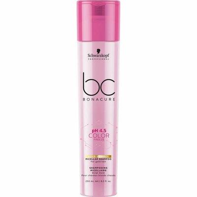Schwarzkopf BC Bonacure Color Freeze Gold Shimmer Micellar Shampoo 250ml