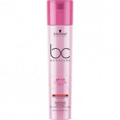 Schwarzkopf BC Bonacure Color Freeze Vibrant Micellar Shampoo rosso 250ml