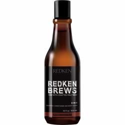 Redken Brews 3 en 1 Shampooing 300 ml
