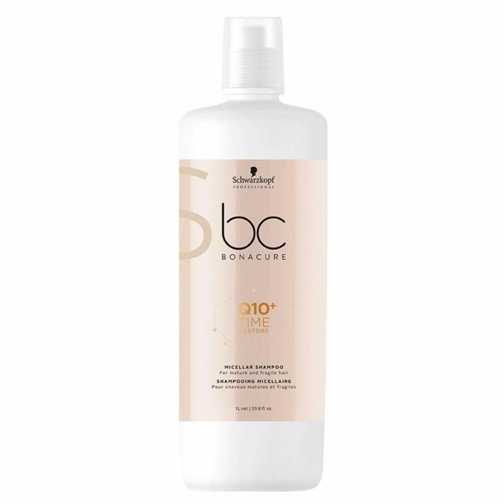 1ad460353c Schwarzkopf BC Bonacure Q10 + Time Restore Micellar Shampoo 1000ml