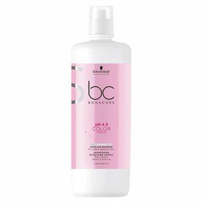 Schwarzkopf BC Bonacure Color Freeze Silver Micellar Shampoo 1000ml