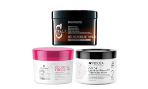 Hair mask with color enhancement