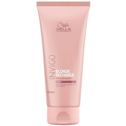 Wella Invigo Blond Recharge Chaude Blond Revitalisant 200ml
