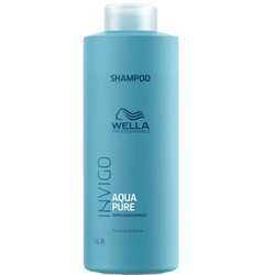 Wella Invigo Balance Aqua Pure Purifying Shampoo 1000ml