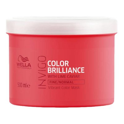 Wella Invigo Color Brilliance Mask Fijn en Normaal haar 500ml