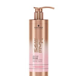 Schwarzkopf Blond Me BlushWash Strawberry 250ml