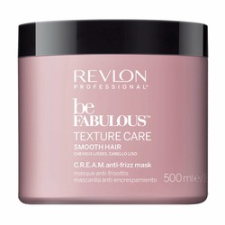 Revlon Be Fabulous Texture Care Smooth Anti Frizz Mask 500ml