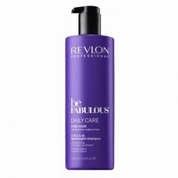 Revlon Be Fabulous Daily Care Fine Hair Cream Shampoo 1000ml