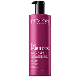 Revlon Be Fabulous Daily Care Normal/Tick Hair Cream Shampoo 1000ml
