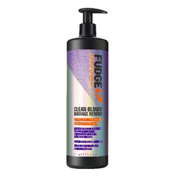 Fudge Clean Blonde Damage Rewind Violet-Toning Conditioner 1L