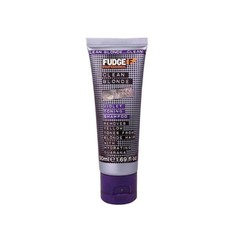 Fudge Clean Blonde Toning Violet Shampoo 50ml