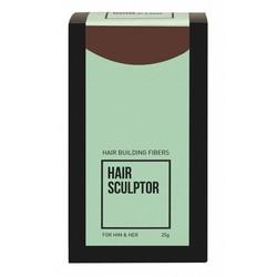 Hair Sculptor Fibre della costruzione dei capelli Brown medio