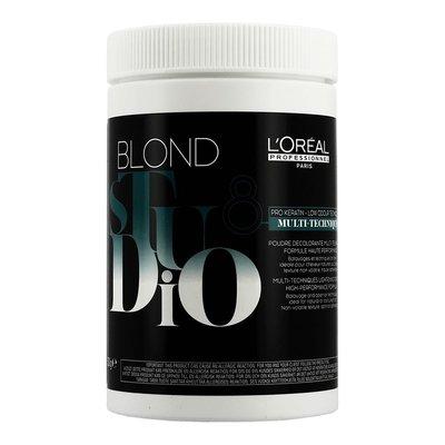 L'Oreal Studio Blond Multi-Techniques Poudre Éclaircissante, 500gr