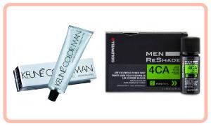 colorants pour cheveux pour les hommes