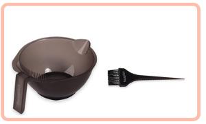 suministros de tintes para el cabello