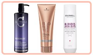 Shampoo für blondes Haar