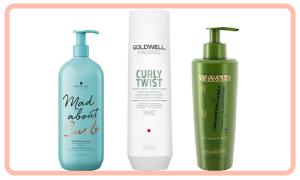 Shampoo per capelli ricci