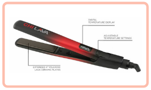 Straightener with Display