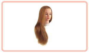Practica cabello largo cabeza