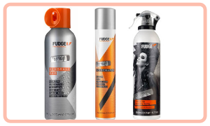 Spray pour cheveux et spray Fudge