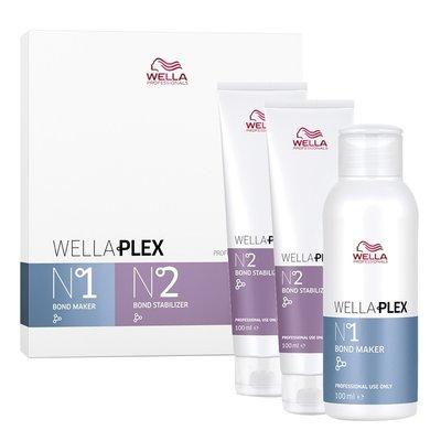 Wella Plex Pequeño Kit Paso Nr. 1 y No. 2