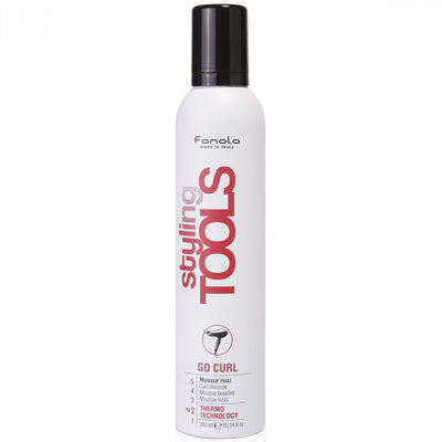 Fanola Styling Tools Go Curl Curly Mousse 300ml